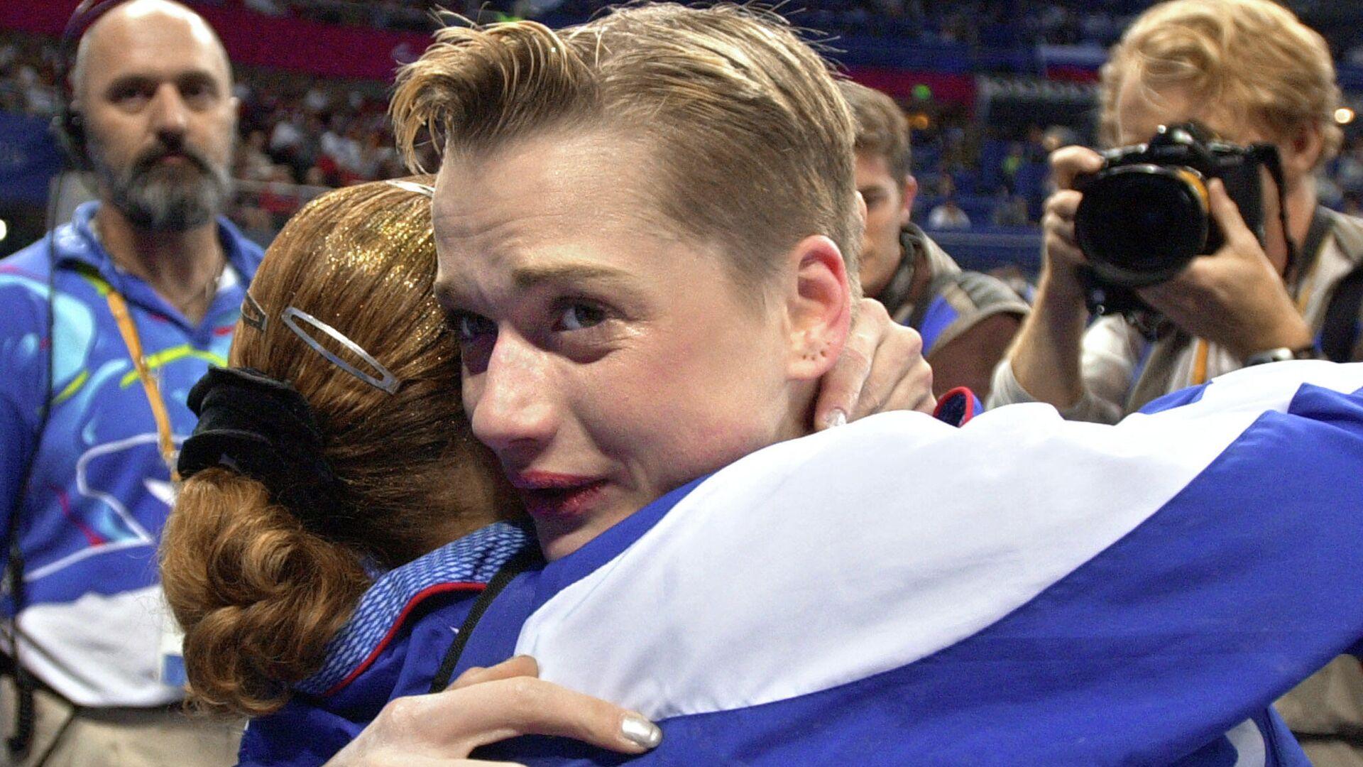 Российская гимнастка Светлана Хоркина на Олимпиаде-2000 в Сиднее - РИА Новости, 1920, 31.07.2021