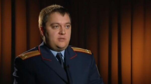 Ярослав Коновалов. Кадр из программы Честный детектив