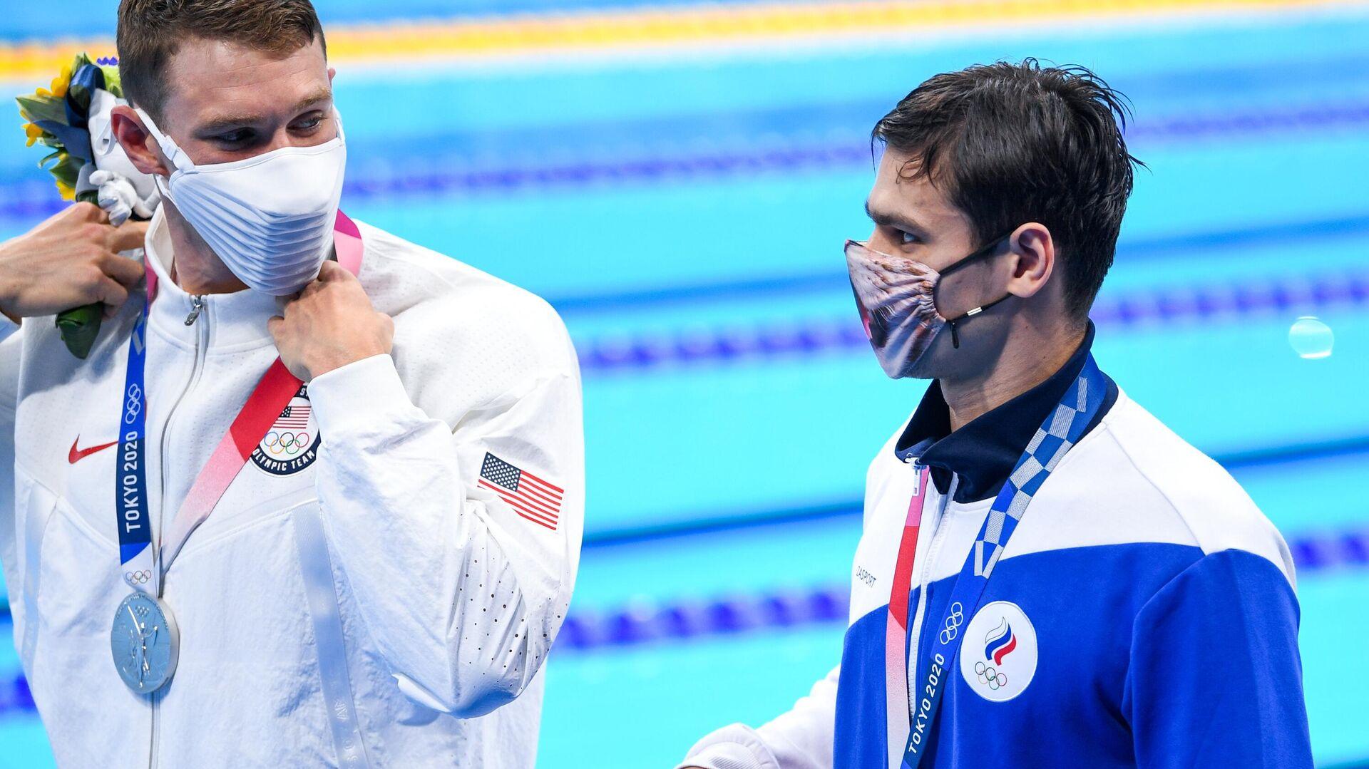 Олимпиада-2020. Плавание. Шестой день - РИА Новости, 1920, 30.07.2021