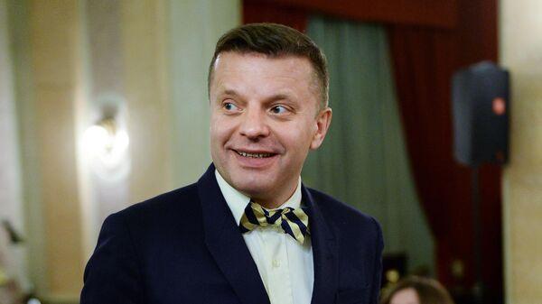 Телеведущий Леонид Парфенов