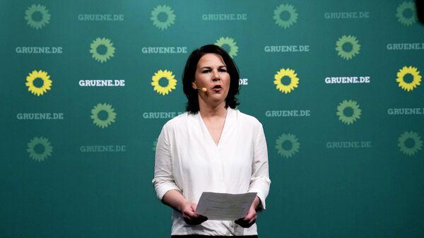 Кандидат в канцлеры Германии Анналена Бербок