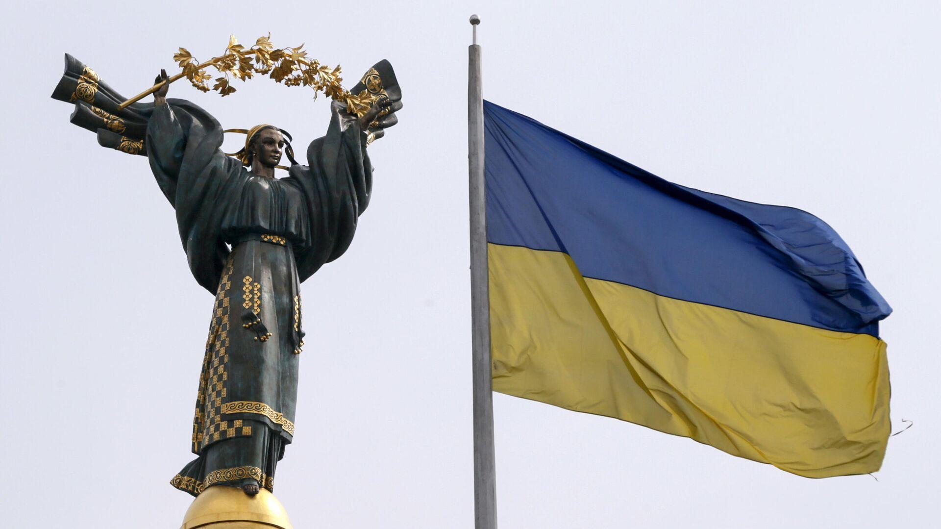Монумент Независимости в Киеве - РИА Новости, 1920, 30.07.2021
