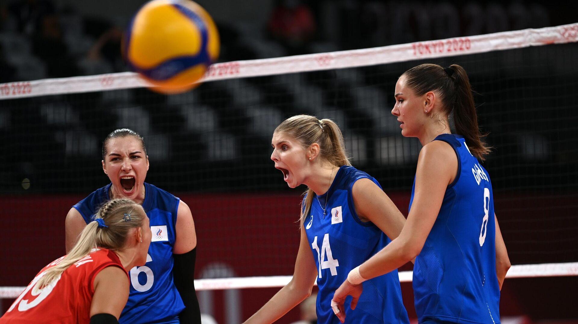 Олимпиада-2020. Волейбол. Женщины. Матч США - Россия - РИА Новости, 1920, 31.07.2021