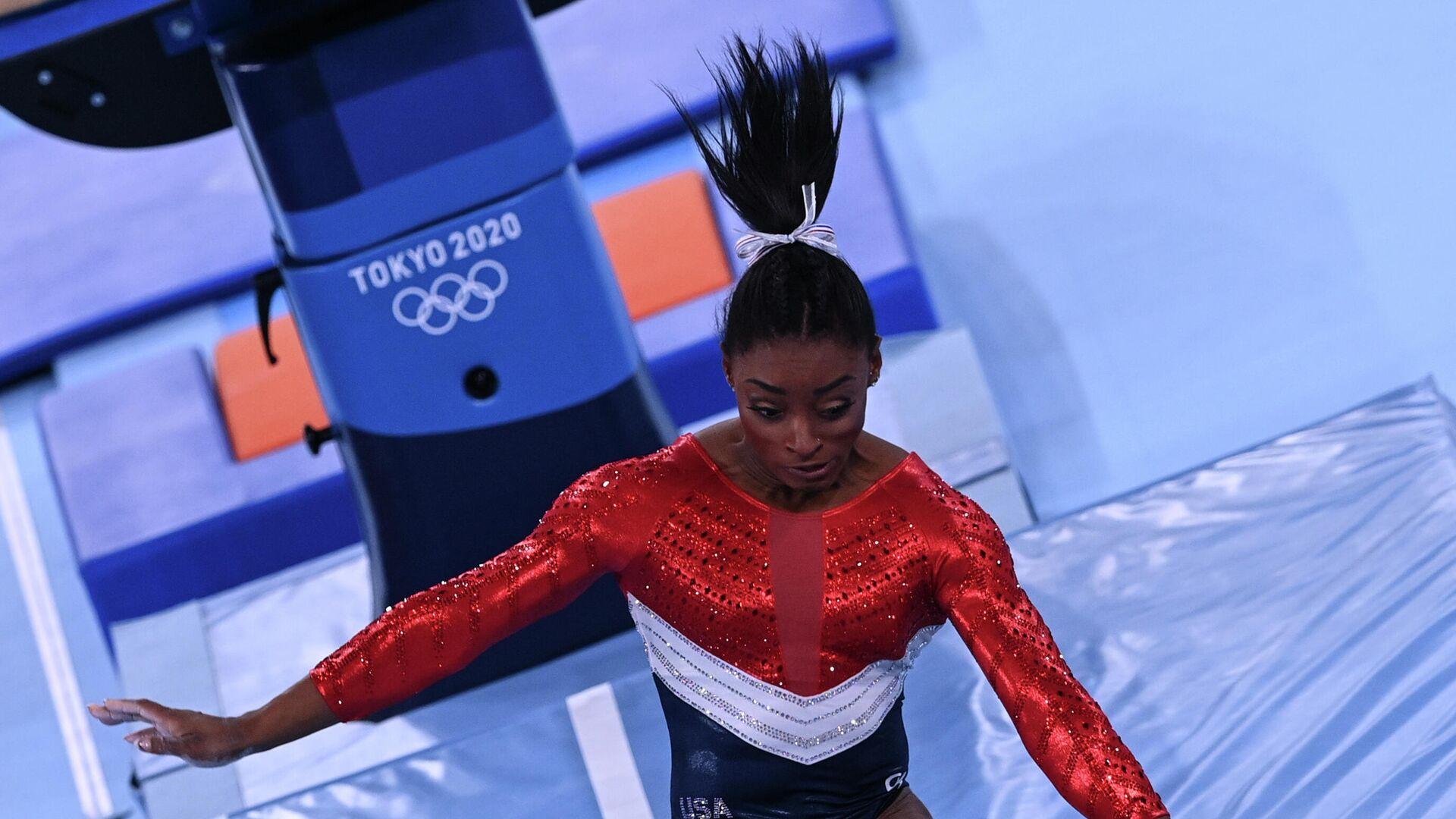 Олимпиада-2020. Спортивная гимнастика. Женщины. Командное многоборье - РИА Новости, 1920, 28.09.2021