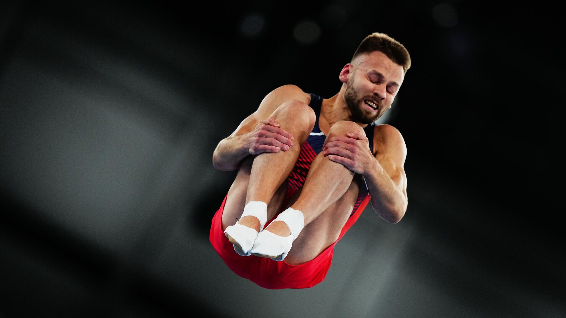 Олимпиада-2020. Прыжки на батуте. Мужчины - РИА Новости, 1920, 31.07.2021