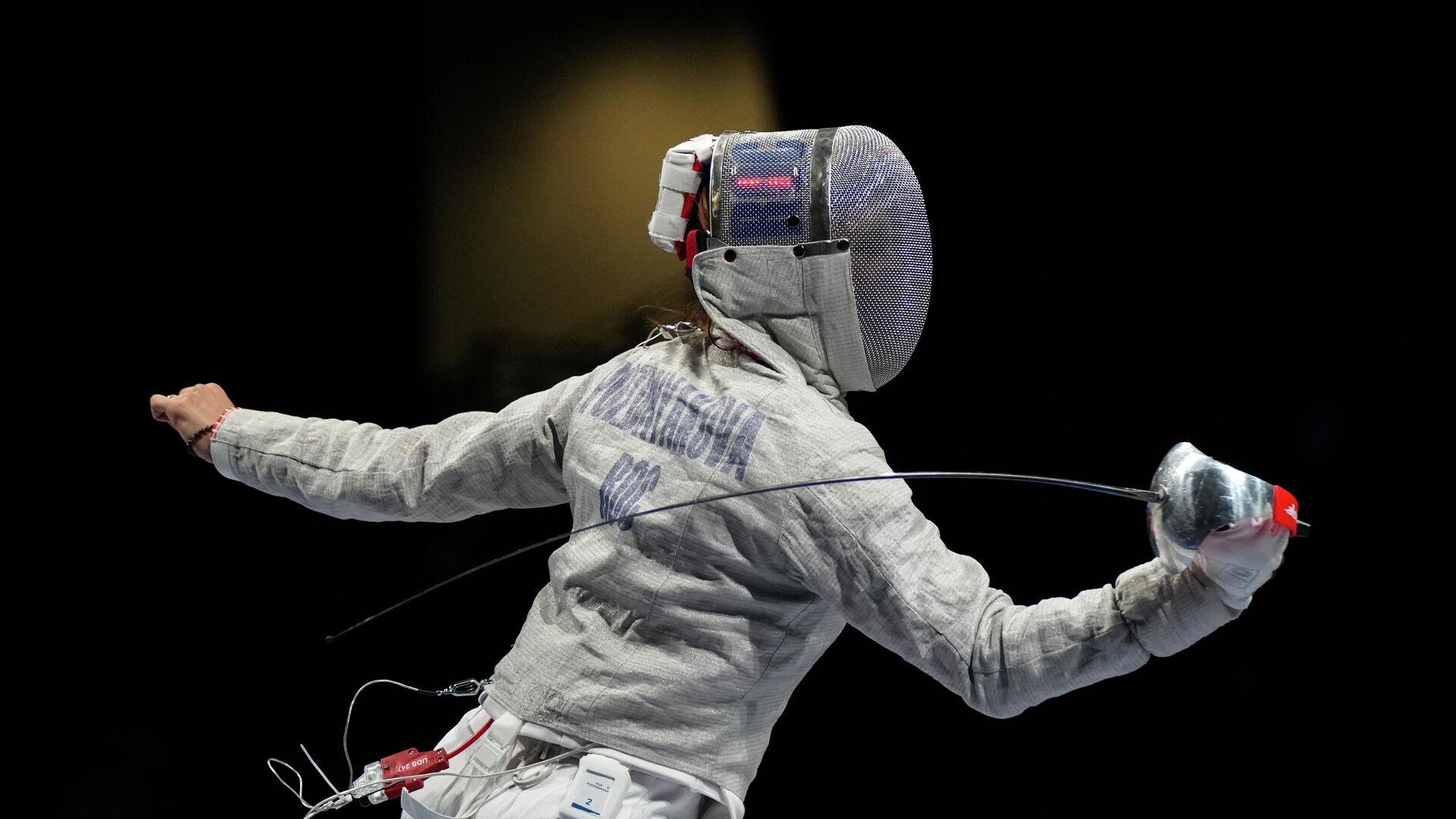 Олимпиада-2020. Фехтование. Женщины. Сабля. Командное первенство - РИА Новости, 1920, 31.07.2021