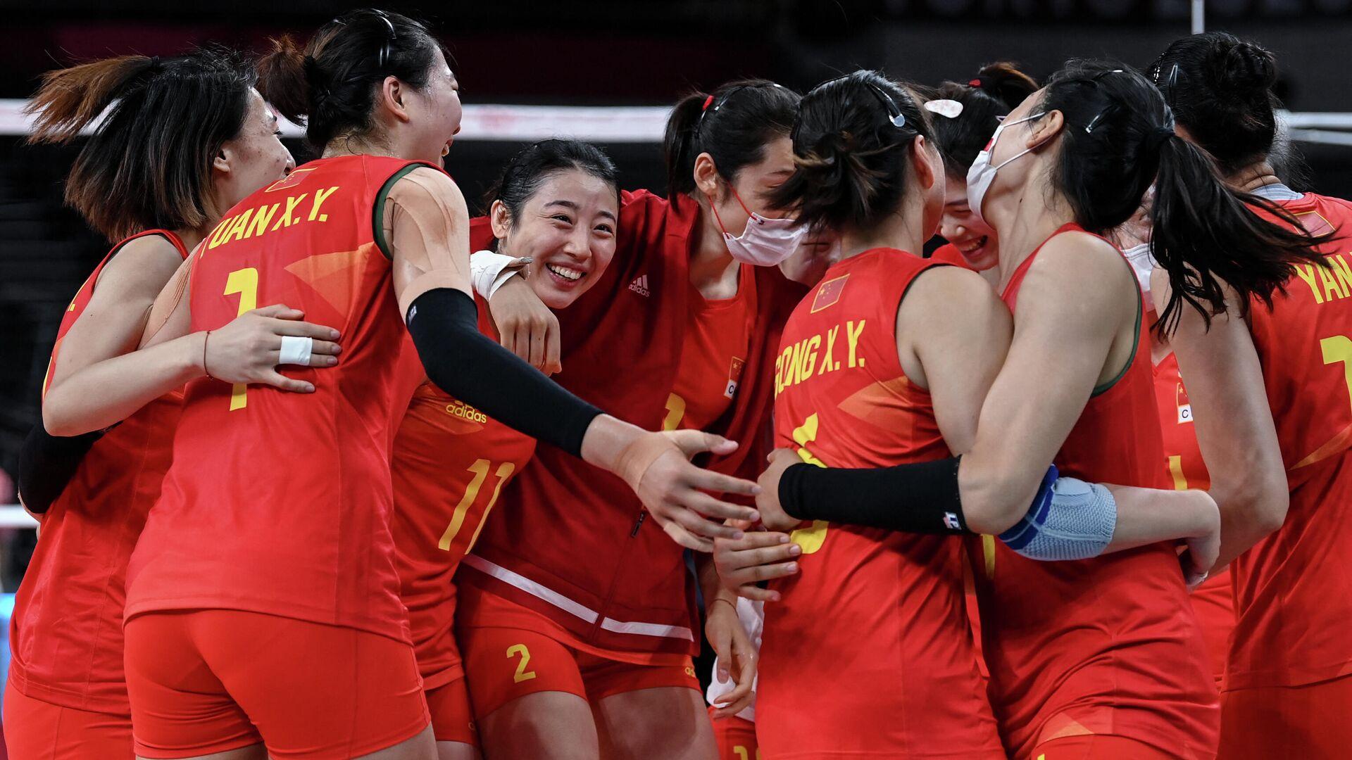 Женская сборная Китая по волейболу - РИА Новости, 1920, 31.07.2021