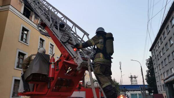 Пожаре в общежитии медуниверситета в Нижнем Новгороде