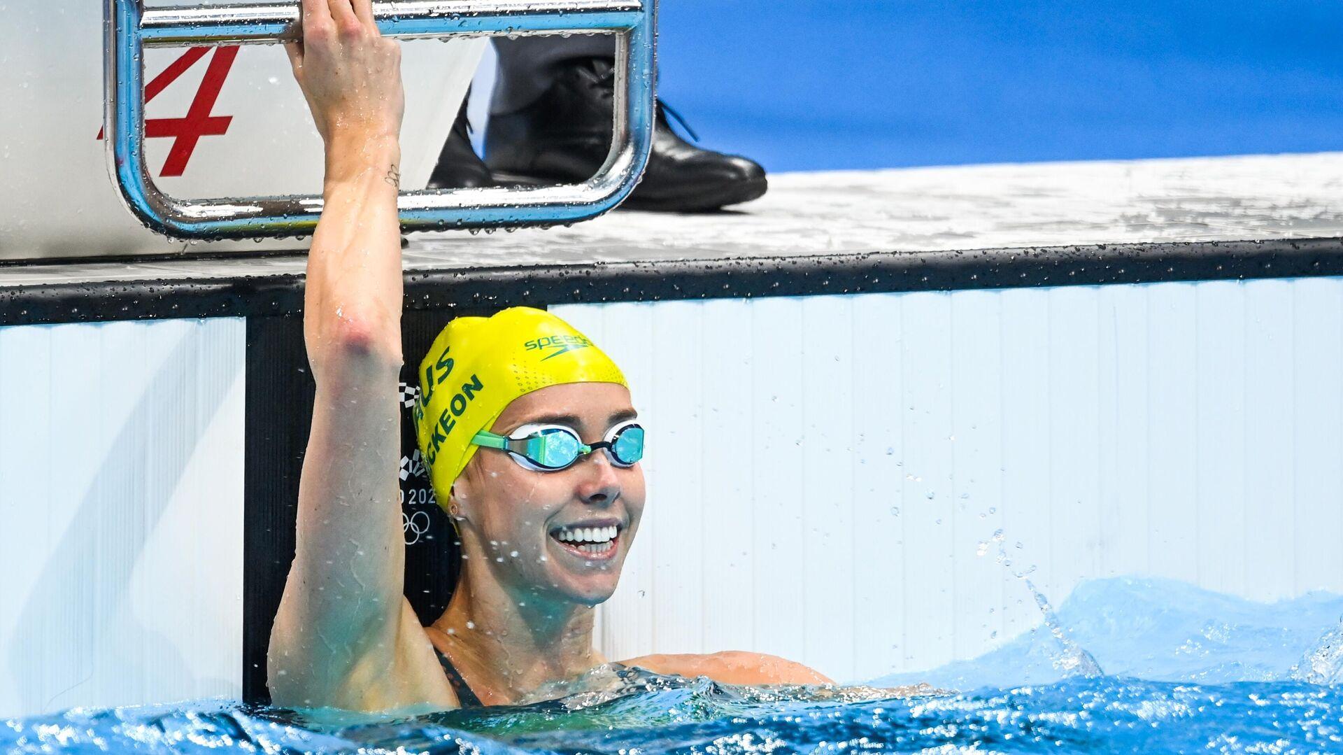 Олимпиада-2020. Плавание. Восьмой день - РИА Новости, 1920, 01.08.2021