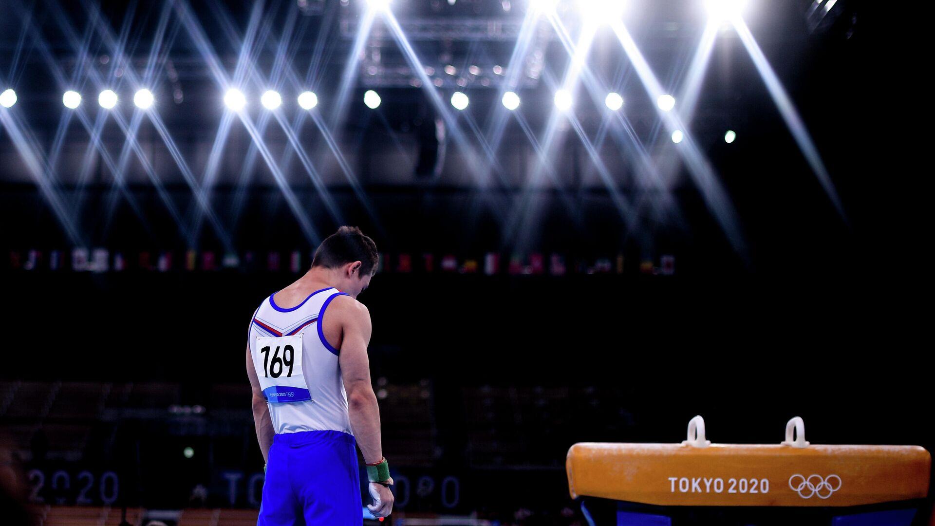 Олимпиада-2020. Спортивная гимнастика. Мужчины. Командное многоборье - РИА Новости, 1920, 03.08.2021