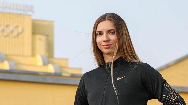 Легкоатлетка Кристина Тимановская.
