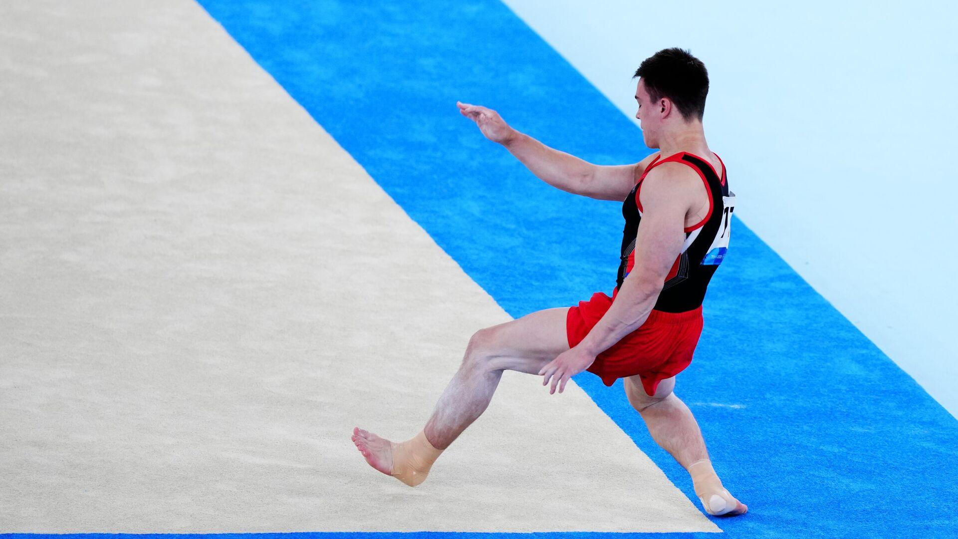 Олимпиада-2020. Спортивная гимнастика. Мужчины. Вольные упражнения - РИА Новости, 1920, 01.08.2021