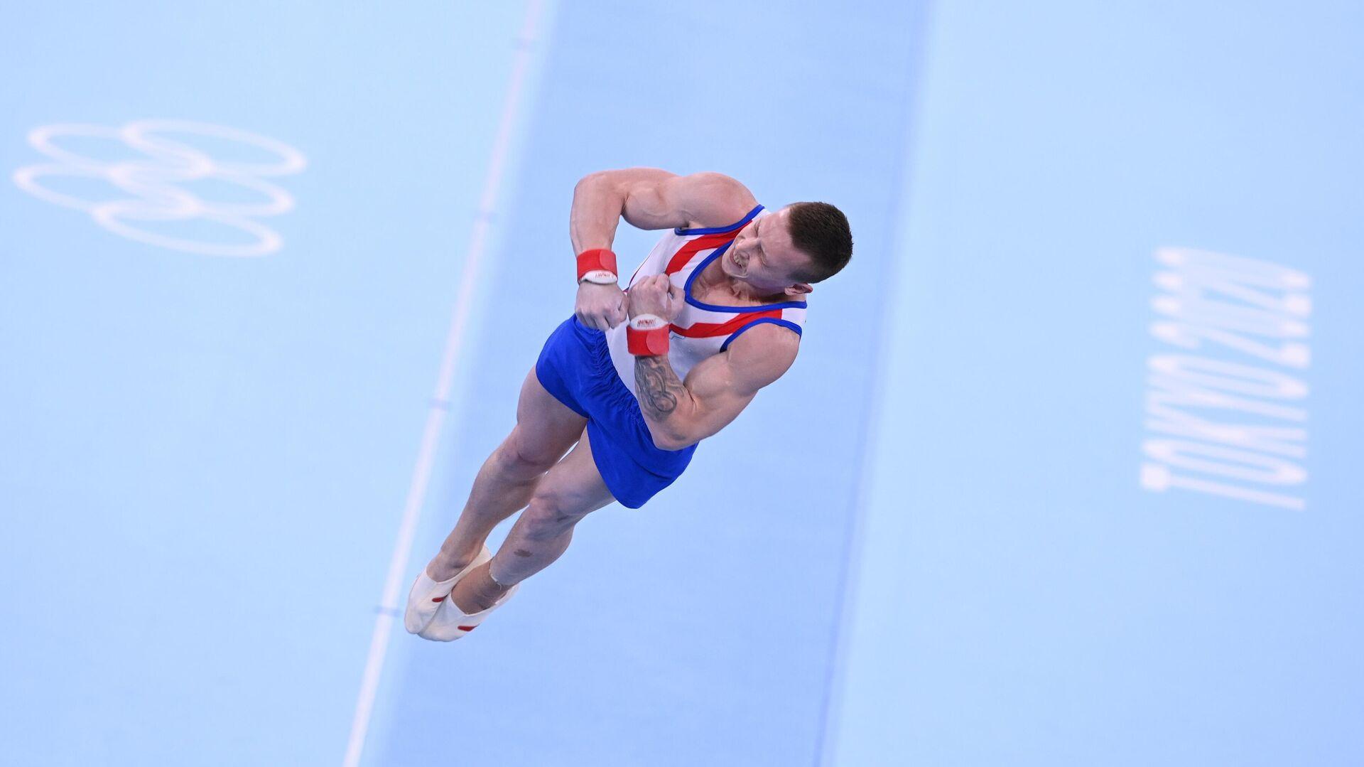 Олимпиада-2020. Спортивная гимнастика. Мужчины. Командное многоборье - РИА Новости, 1920, 02.08.2021
