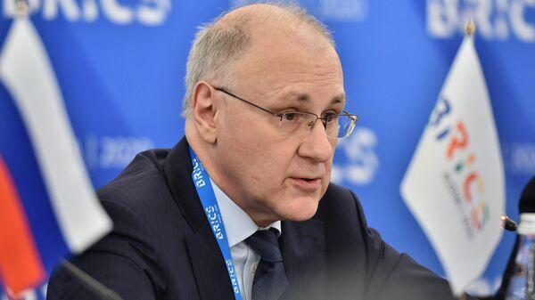 Директор департамента по вопросам новых вызовов и угроз МИД РФ Владимир Тарабрин