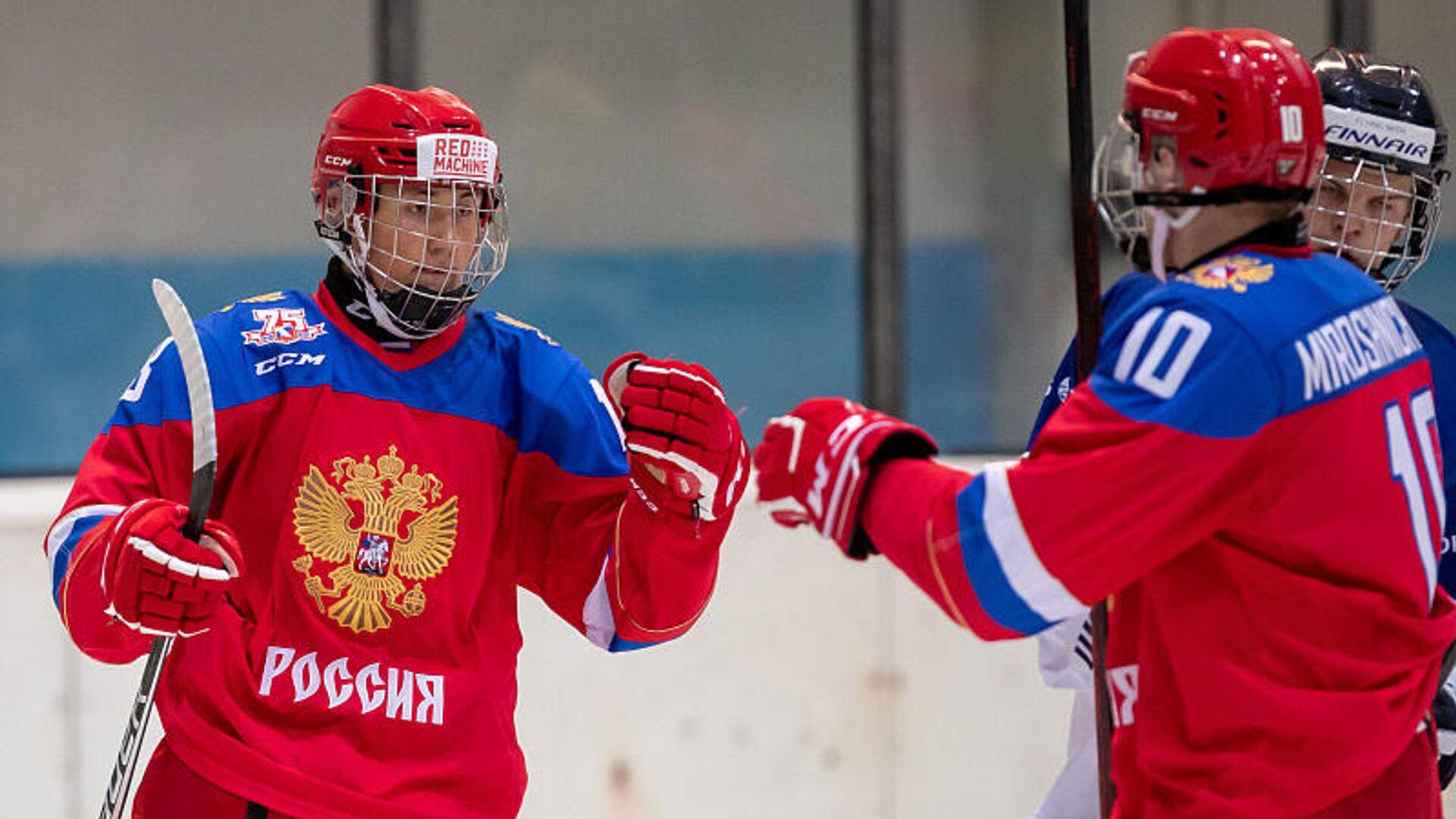 Юниорская сборная России по хоккею - РИА Новости, 1920, 03.08.2021