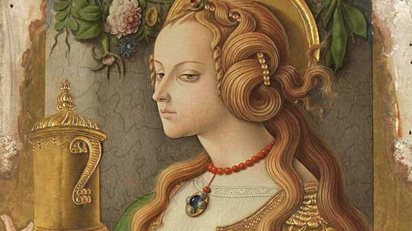 Картина Карло Кривелли Мария Магдалина