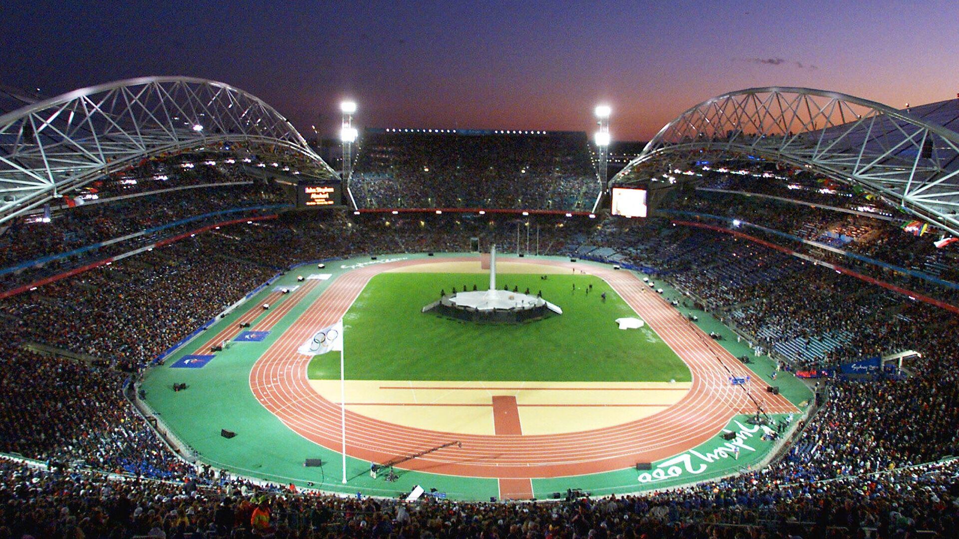 Церемония закрытия Олимпиады 2000 года в Сиднее - РИА Новости, 1920, 04.08.2021