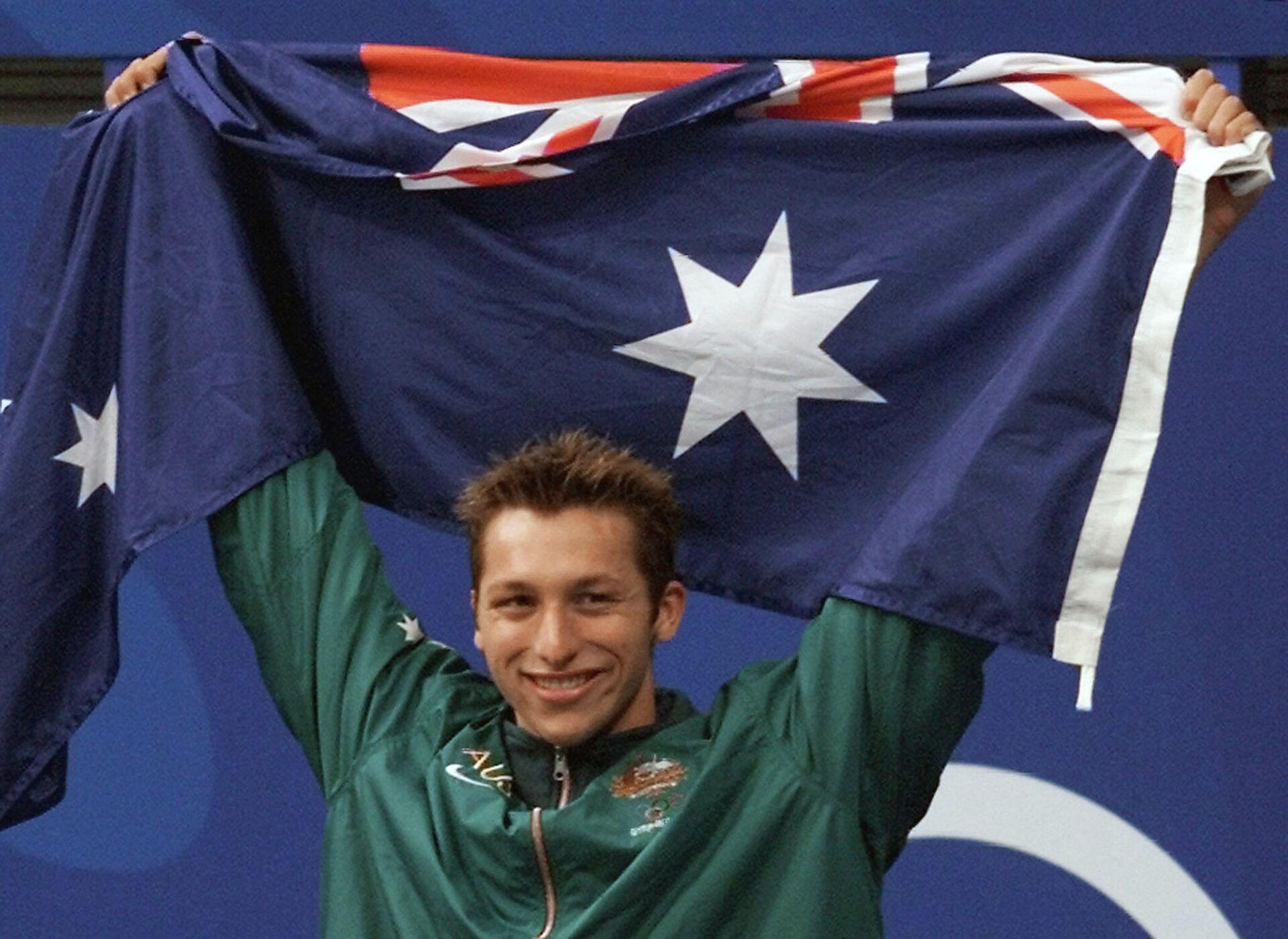Австралийский пловец Ян Торп на Олимпиаде 2000 года в Сиднее - РИА Новости, 1920, 03.08.2021