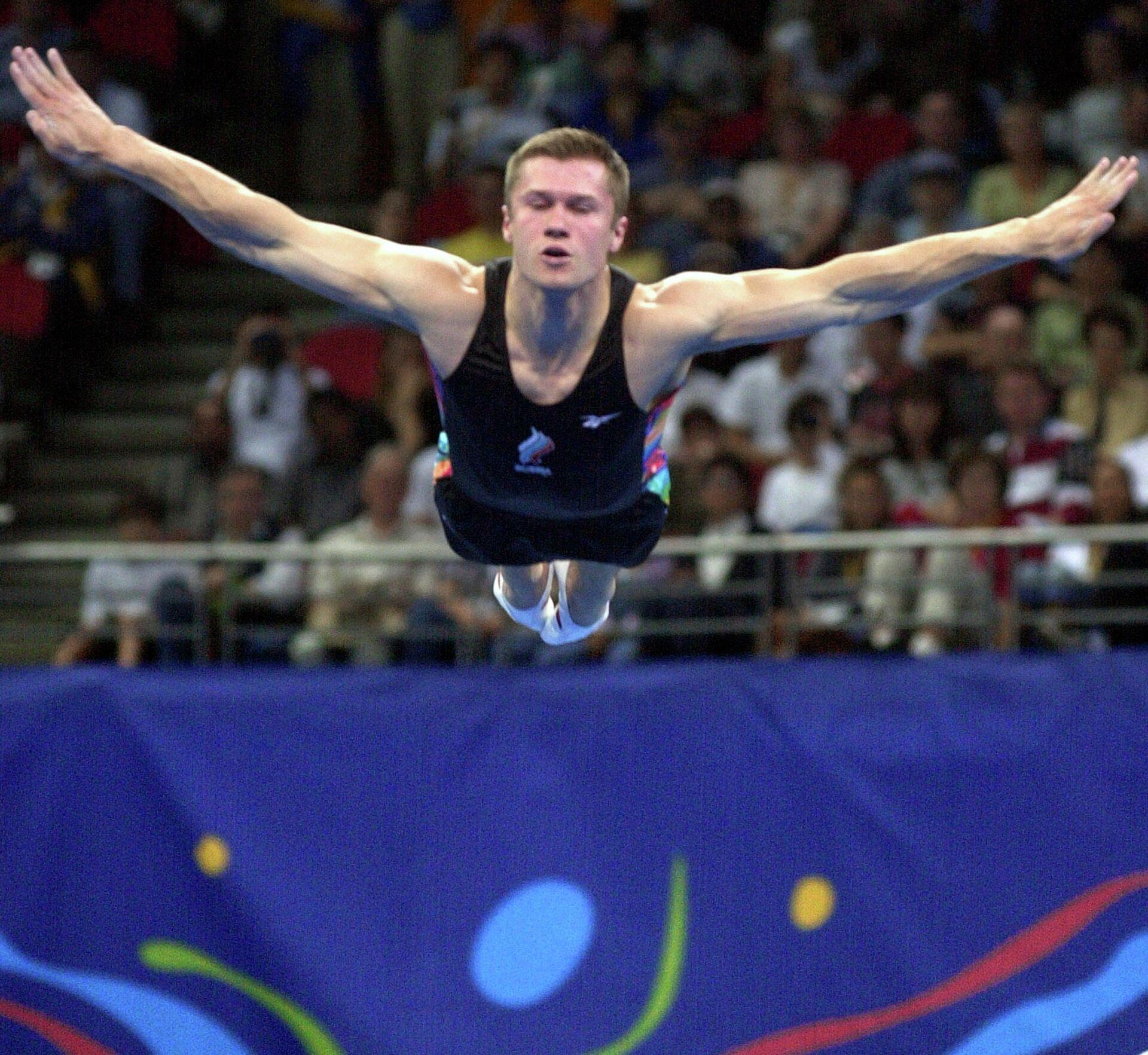 Гимнаст Алексей Немов на Олимпийских играх в Сиднее - РИА Новости, 1920, 03.08.2021
