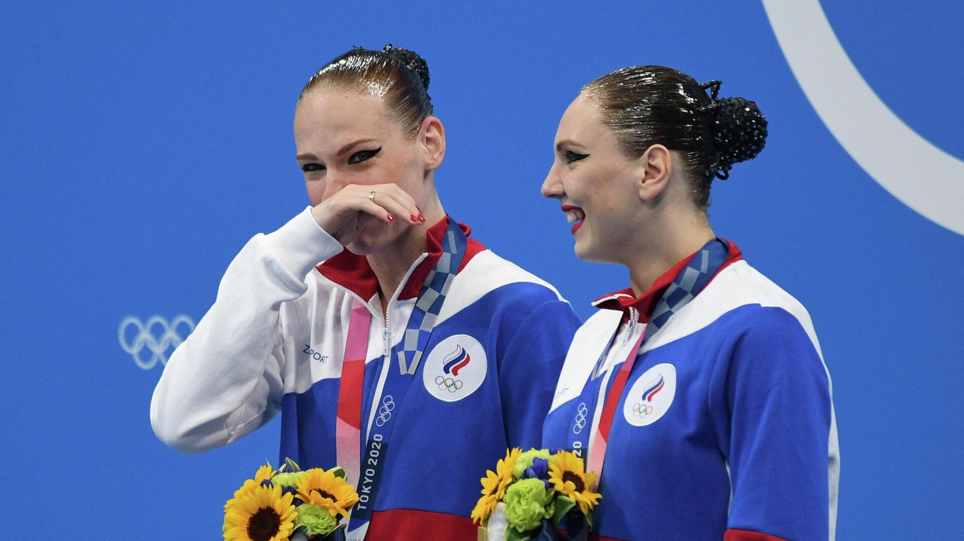 Светлана Колесниченко и Светлана Ромашина - РИА Новости, 1920, 04.08.2021