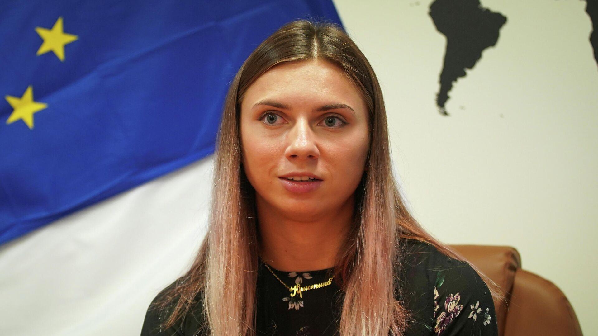 Кристина Тимановская - РИА Новости, 1920, 09.08.2021