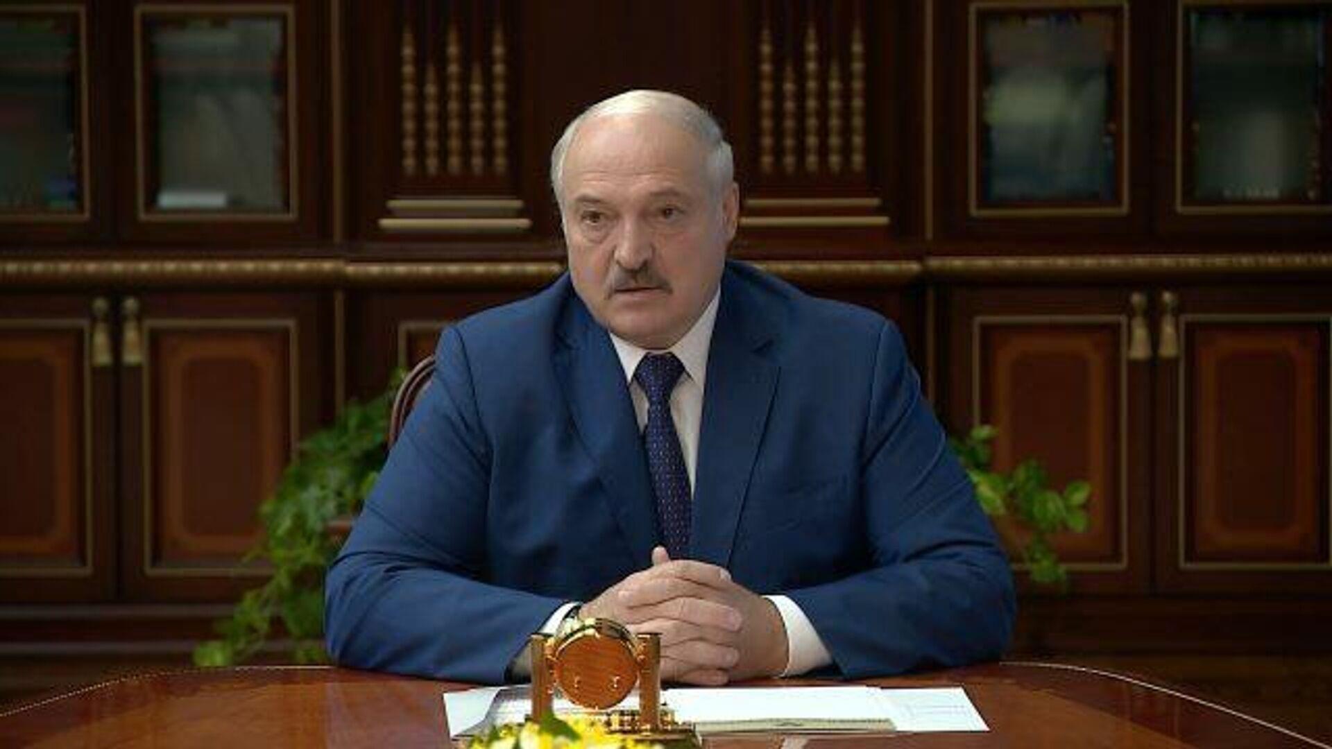 Мерзавцы полные: Лукашенко высказался о литовских властях - РИА Новости, 1920, 05.08.2021