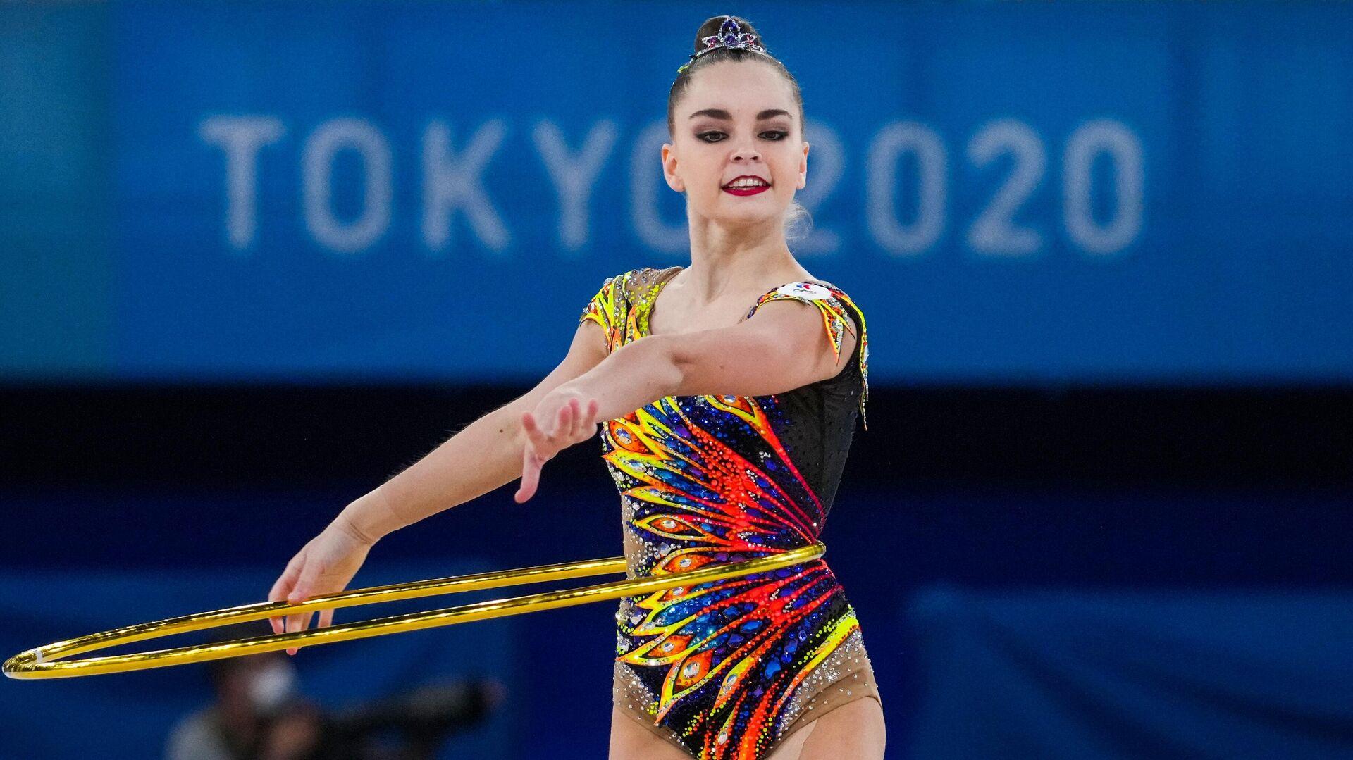 Олимпиада-2020. Художественная гимнастика. Индивидуальное многоборье. Квалификация - РИА Новости, 1920, 06.08.2021