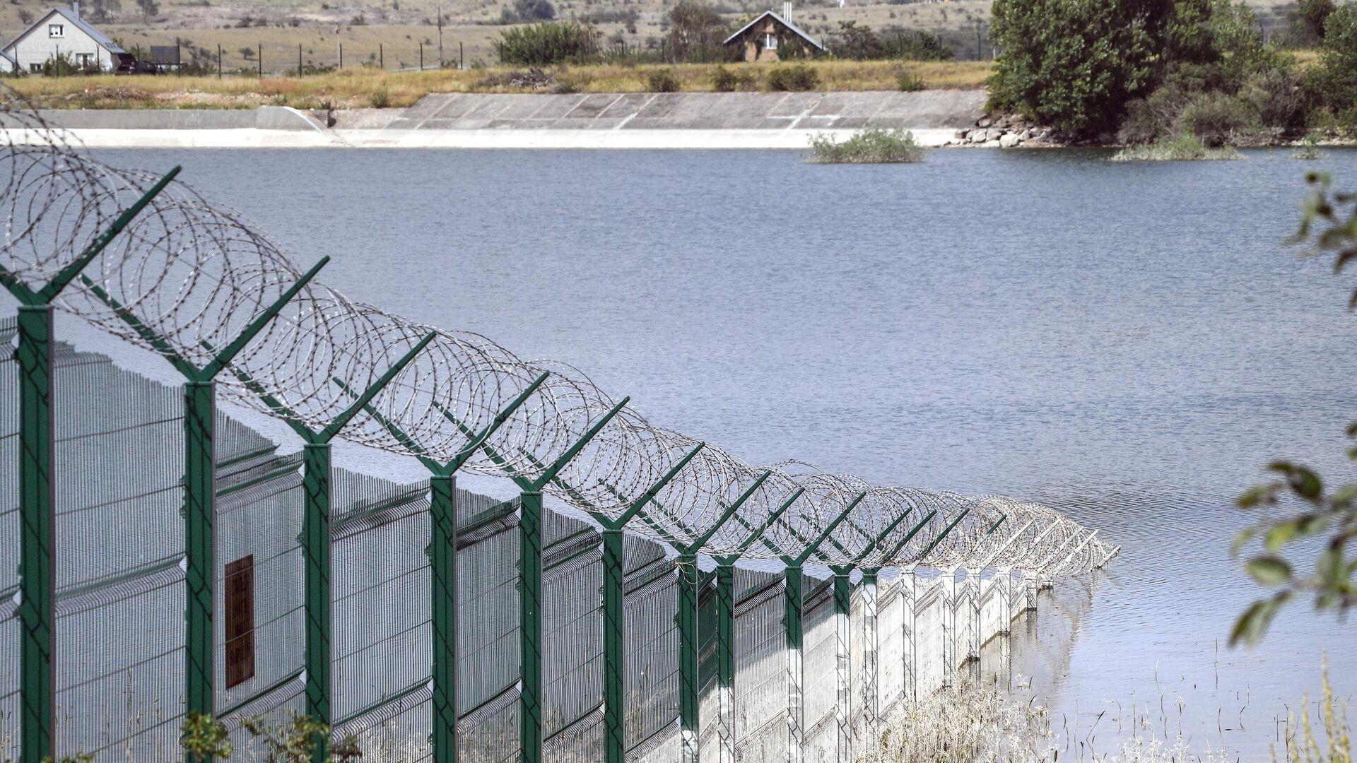 Аянское водохранилище, которое питается водами реки Аян - РИА Новости, 1920, 19.09.2021
