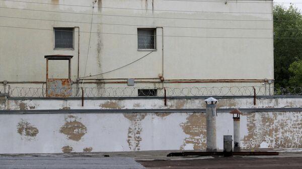 Изолятор временного содержания в подмосковной Истре, откуда сбежали пятеро заключенных