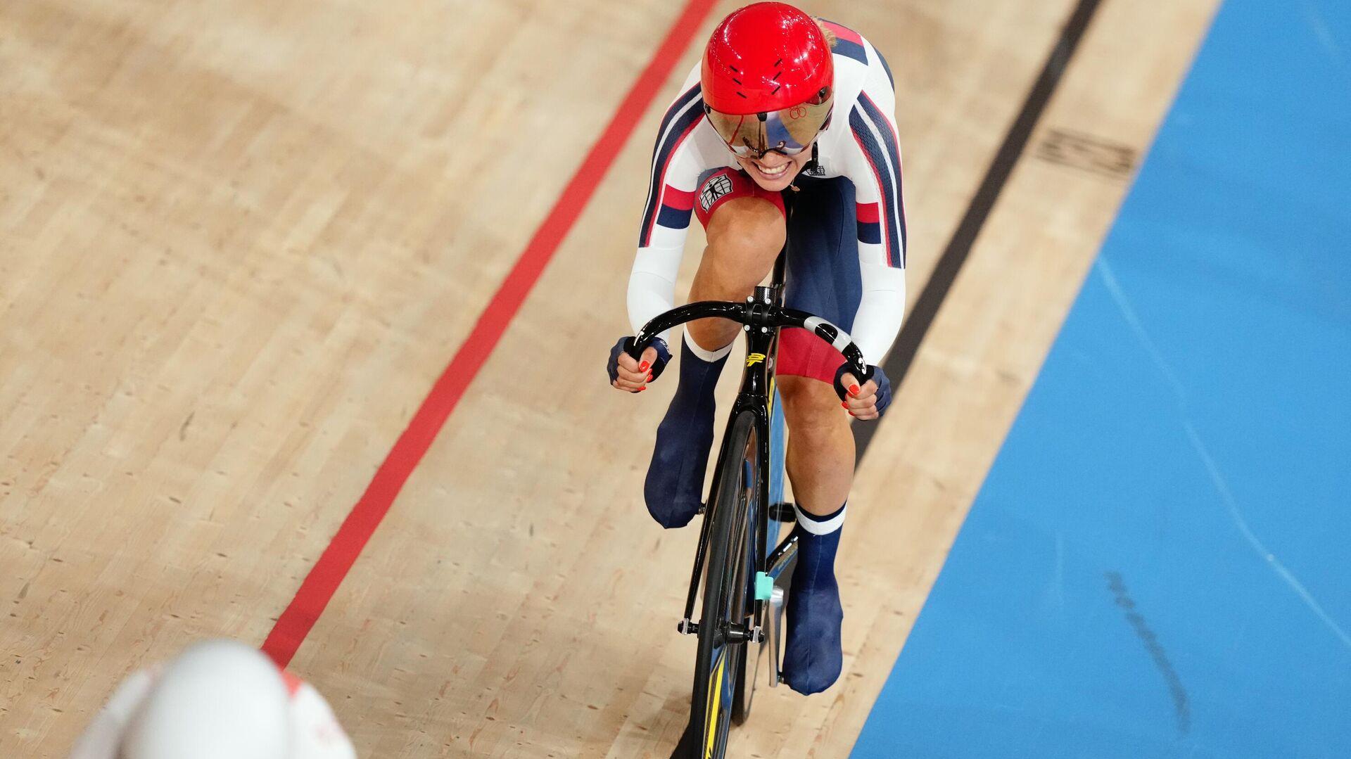 Призер Олимпийских игр в велоспорте на треке Гульназ Хатунцева  - РИА Новости, 1920, 25.09.2021
