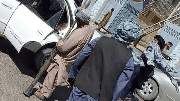 Талибы (движение запрещено в России как террористическое) вошли в Зарандж