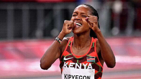 Кенийская легкоатлетка Фейт Кипьегон