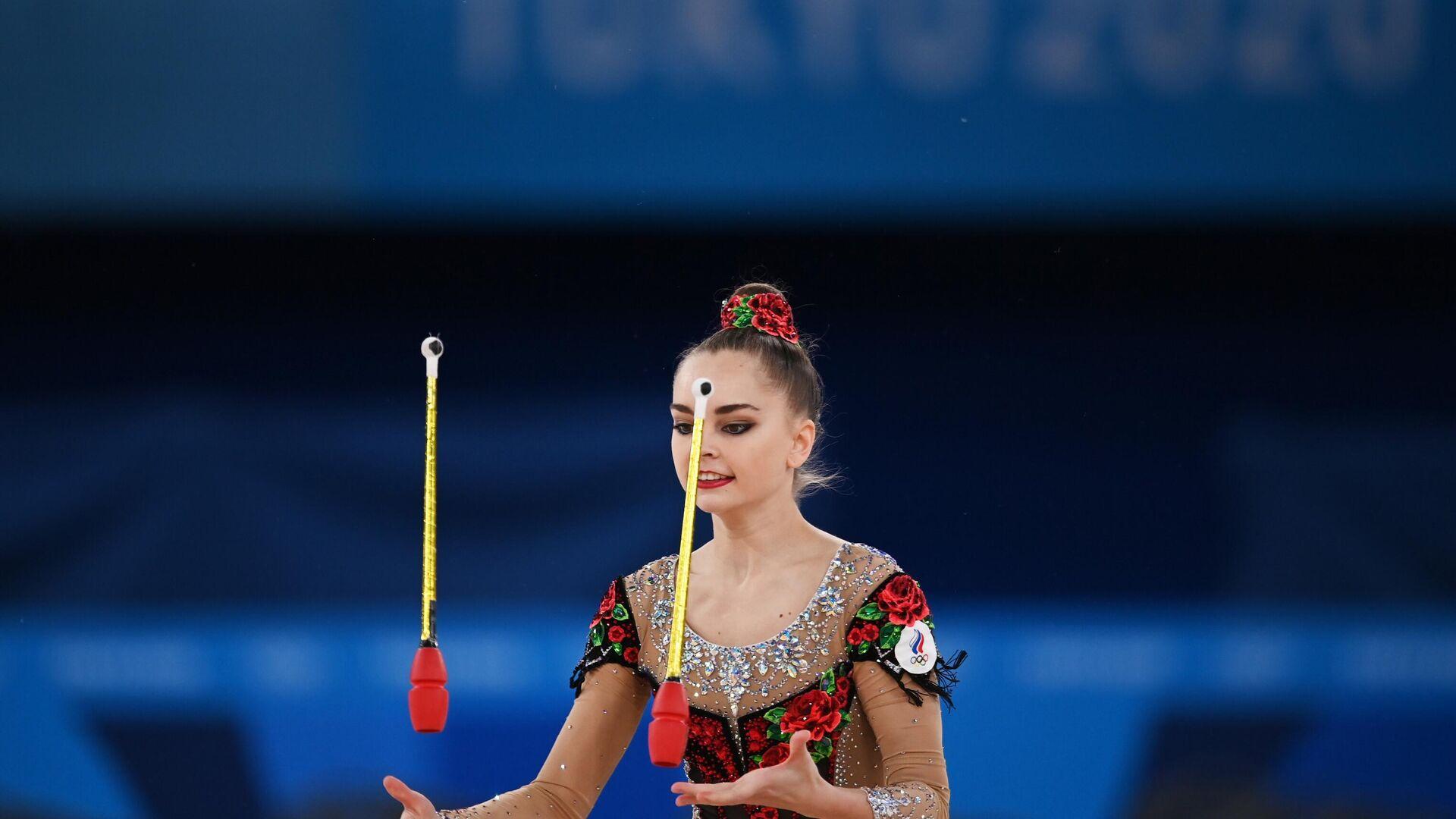Олимпиада-2020. Художественная гимнастика. Индивидуальное многоборье - РИА Новости, 1920, 10.08.2021
