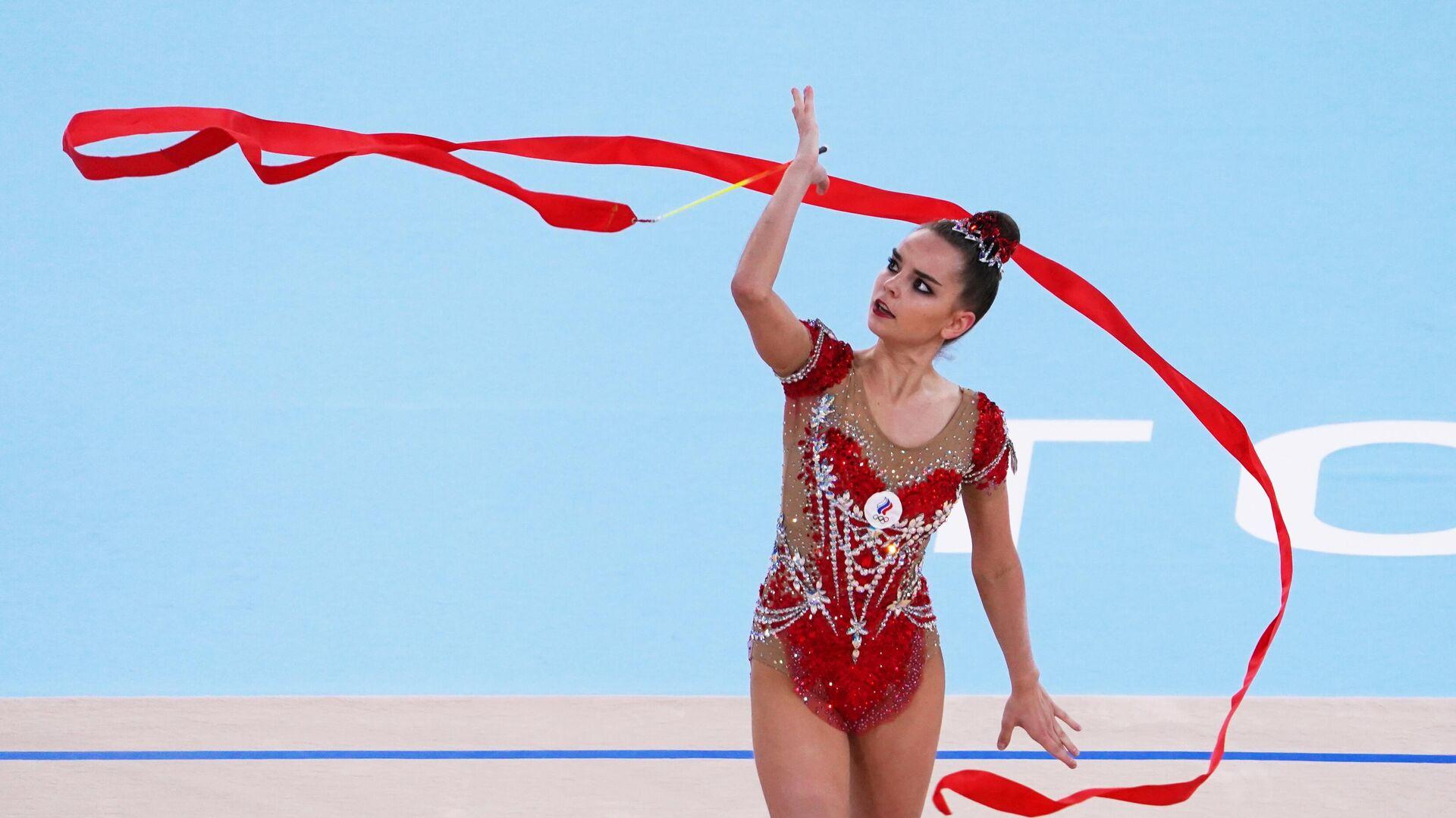 Российская гимнастка Дина Аверина - РИА Новости, 1920, 10.08.2021