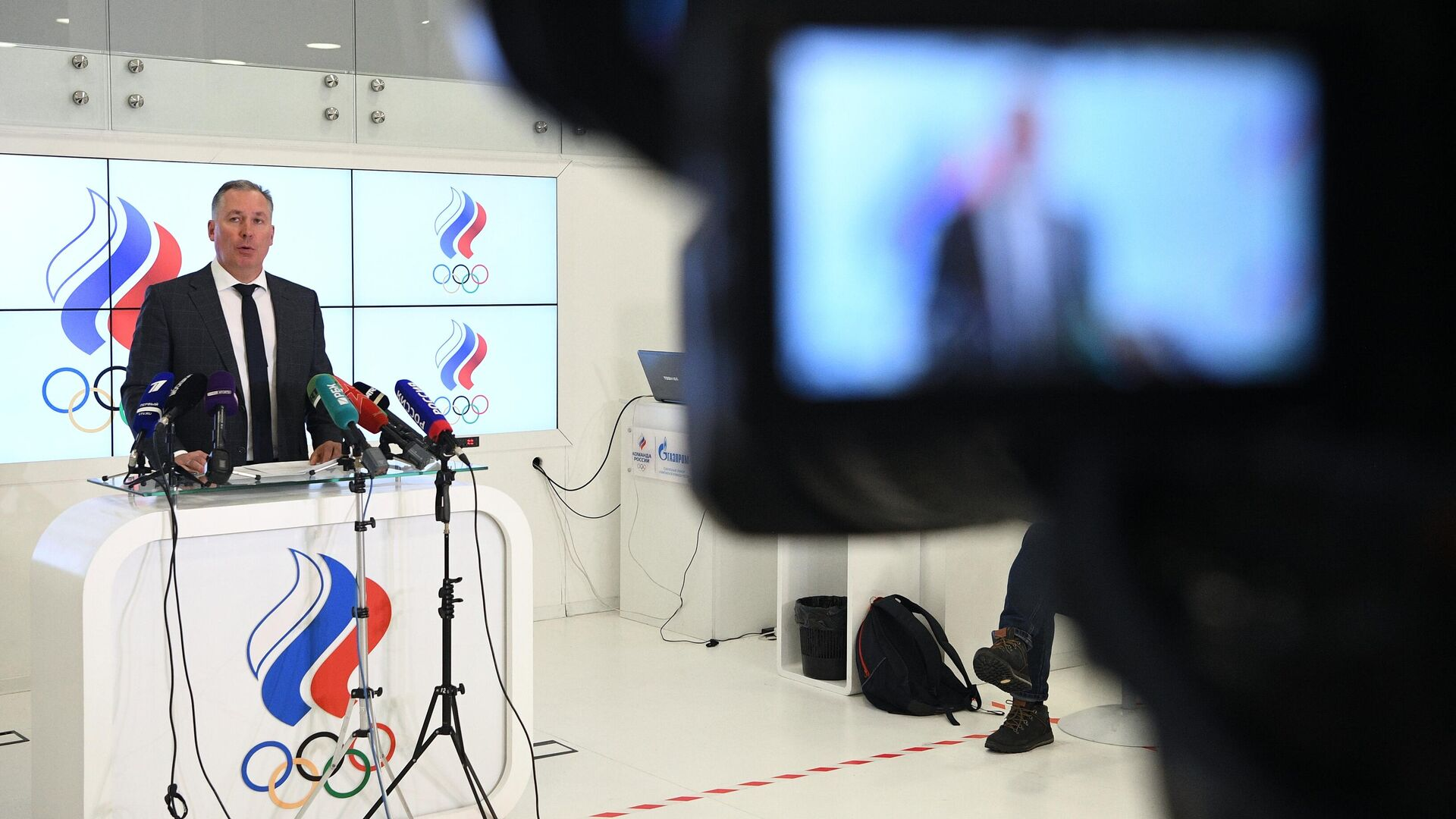 Президент Олимпийского комитета России Станислав Поздняков - РИА Новости, 1920, 09.08.2021