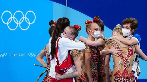 Российские гимнастки на XXXII летних Олимпийских играх в Токио