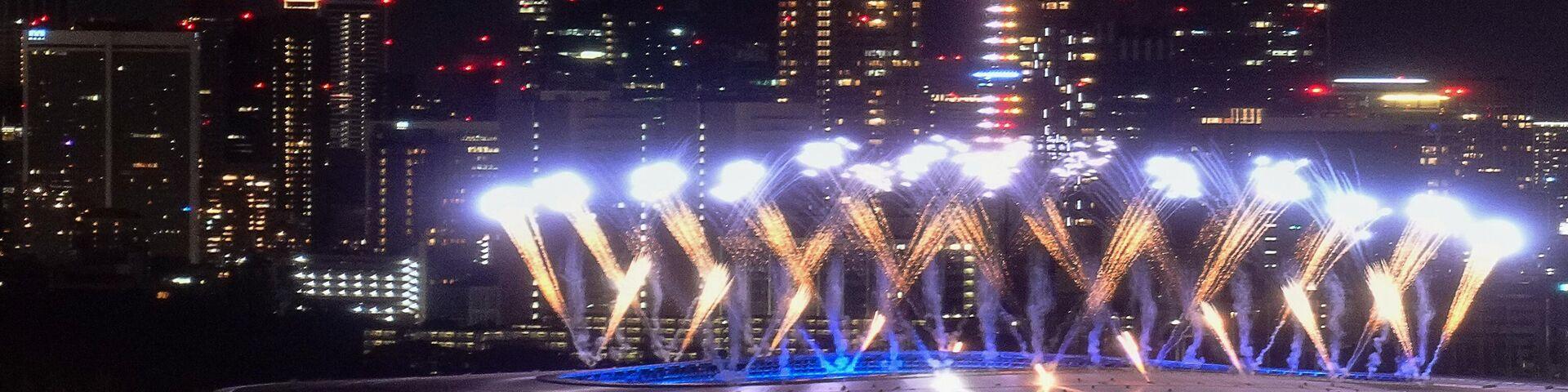 Салют на олимпийском стадионе в Токио - РИА Новости, 1920, 16.08.2021