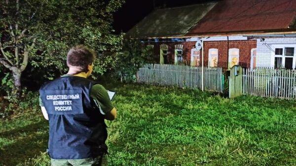 В Тульской области задержан местный житель, подозреваемый в убийстве малолетнего ребенка и покушении на убийство женщины