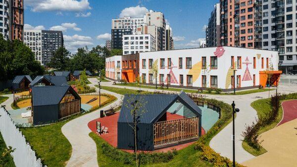 Детский сад Волшебная долина в ЖК Скандинавия в новой Москве