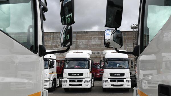 Новые грузовые тягачи КамАЗ 5490 NEO