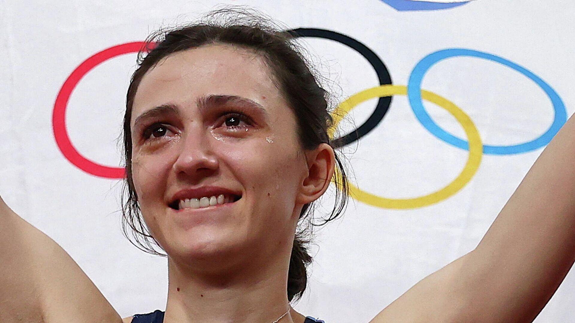 Олимпийская чемпионка по прыжкам в высоту Мария Ласицкене - РИА Новости, 1920, 11.08.2021