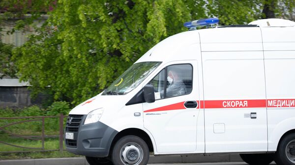 Автомобиль скорой помощи во Владикавказе