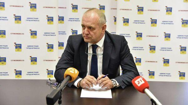 Мэр Мурманска Андрей Сысоев