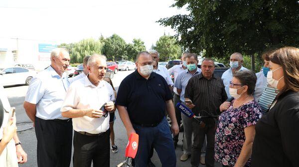 Врио губернатора Пензенской области Олег Мельниченко во время интервью