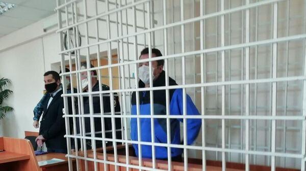 Игорь Редькин в суде