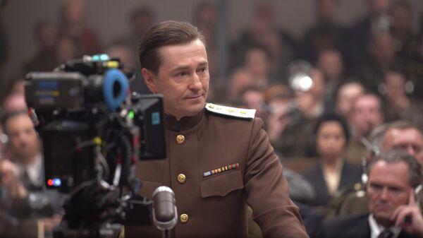 На съемках фильма Нюрнберг