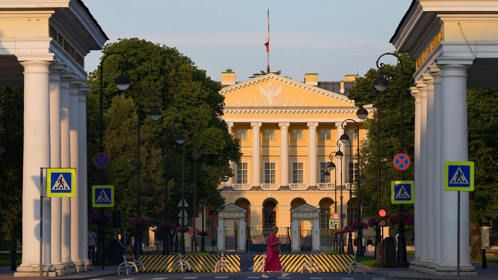 Здание Правительства в Санкт-Петербурге - РИА Новости, 1920, 18.08.2021