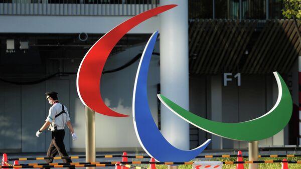 Логотип Паралимпийских игр 2021 года в Токио