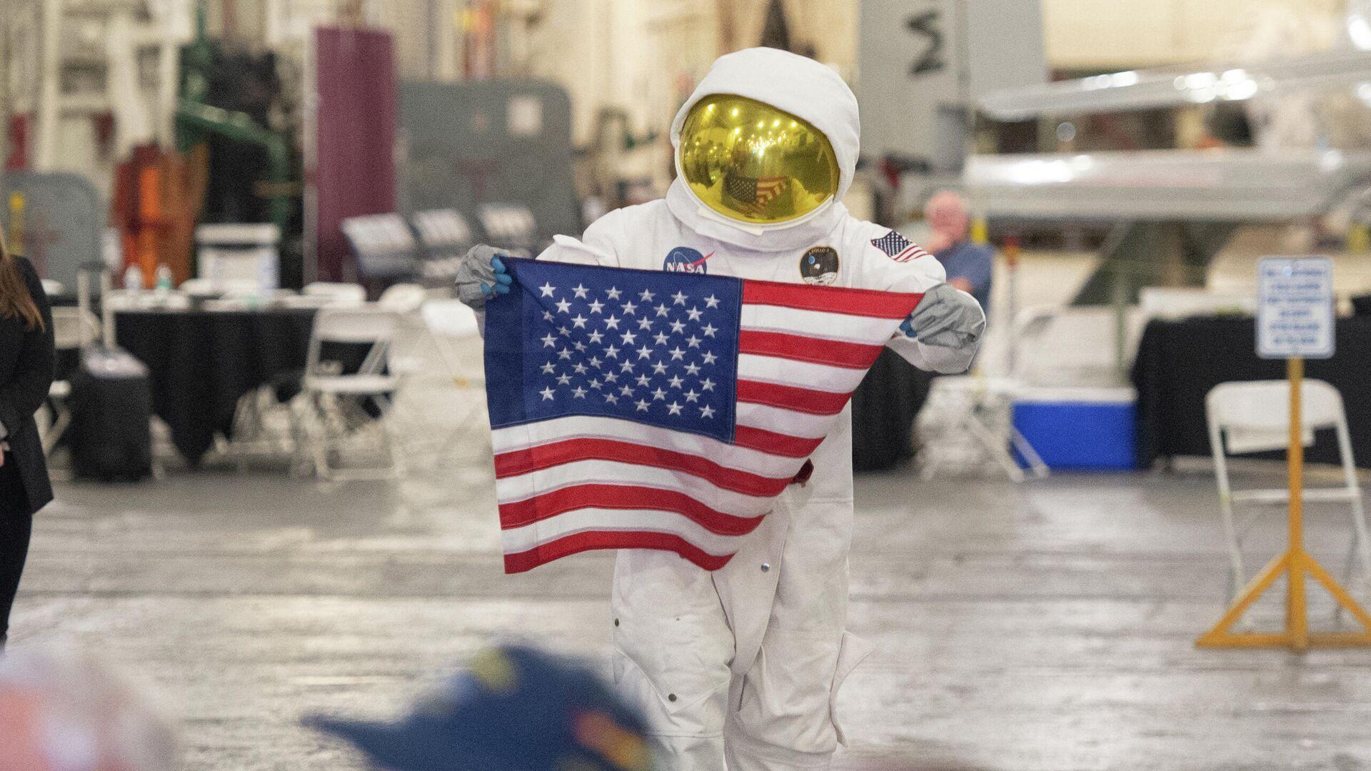 Празднование 50-летия со дня первого полета на Луну в Калифорнии, 2019 год  - РИА Новости, 1920, 13.08.2021