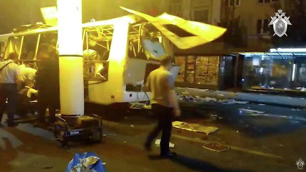 Видео СК по происшествию в Воронеже